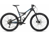 Specialized Camber FSR Comp Carbon 29 Satin Carbon/Neon Blue 2017 - L