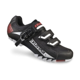 Exustar tretry MTB SM308B Black/White/Red