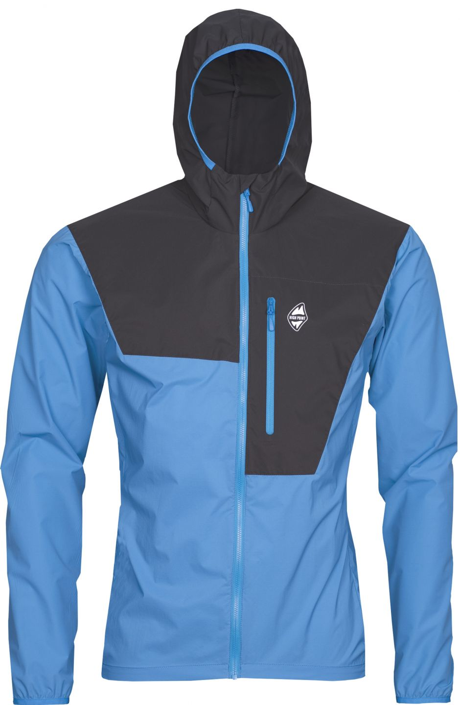 High Point bunda Helium Pertex Jacket swedish blue/ black - L