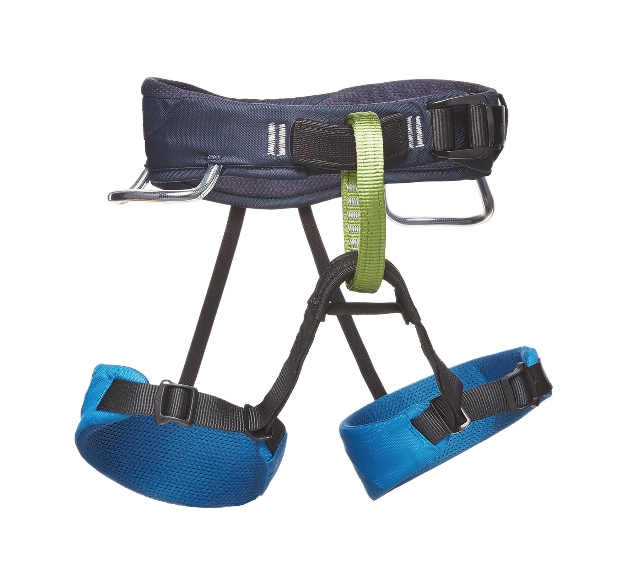 Black Diamond MOMENTUM HARNESS - KIDS', Kingfisher
