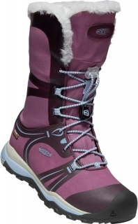 Keen obuv Terradora Winter WP Y winestasting/tulip - US2
