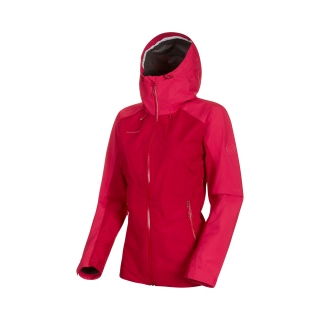 Mammut bunda Convey Tour HS Hooded Jacket Women scooter-dragon fruit - L