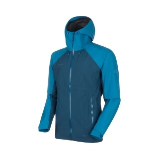 Mammut bunda Convey Tour HS Hooded Jacket Men wing teal-sapphire - XL