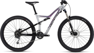 Specialized Rumor FSR 650B Gloss Flake Silver/Black/Bright Pink 2016 - L