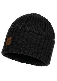 Buff Knitted Hat Rutger Graphite - 117845.901.10