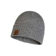 Buff Knitted Hat Rutger Melange Grey - 117845.938.10