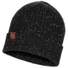 Buff Knitted Hat Kort black - 118081.999.10