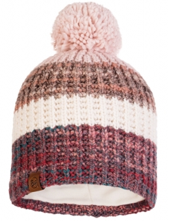 Buff Knitted a Polar Hat Alina- Blossom Red 120838.419.10