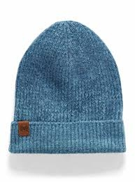 Buff Knitted Hat Marin Denim - 123514.788.10