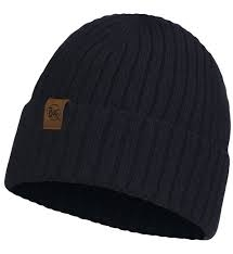 Buff Knitted Hat New Helle Graphite - 123524.901.10