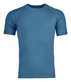 Ortovox triko 145 Ultra Short Sleeve blue sea - vel.L