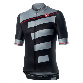 Castelli pánský dres Trofeo, light black/vortex grey L
