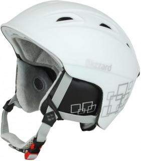 Blizzard helma Viva Demon white matt silver squares - 56-59 6a180549d39