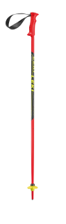 Leki hole Racing Kids, neonred-black-white-yellow - 95cm