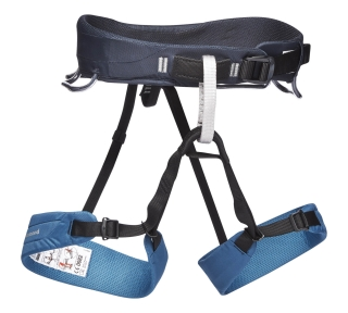 Black Diamond MOMENTUM HARNESS - MEN'S, Astral Blue - M