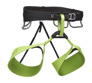 Black Diamond SOLUTION HARNESS-HONNOLD EDITION, Verde - L