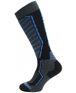 Blizzard Profi ski socks, black/anthracite/blue, size 39-42