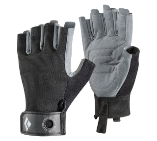 Black Diamond CRAG HALF-FINGER, Black - M
