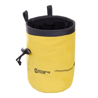 Singing Rock Chalk Bag Mountains Yellow