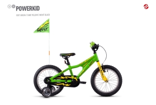Ghost kolo Powerkid 16 green/yellow/Black 2021