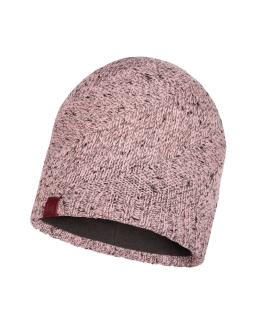 Buff knitted polar hat arne pale pink