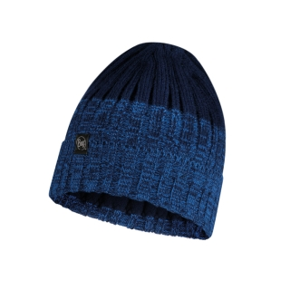 Buff čepice KNITTED & POLAR HAT IGOR NIGHT BLUE