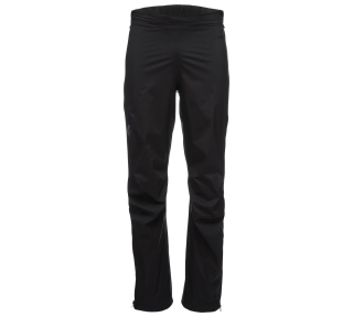 Black Diamond M STORMLINE STR FL ZP RN PANTS, Black - M