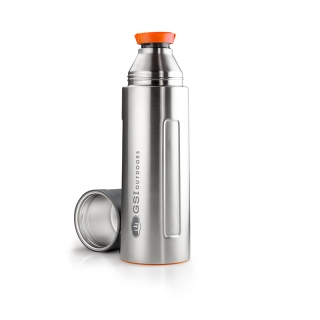 GSI Outdoors Glacier Stainless Vacuum Bottle 1l Stainless