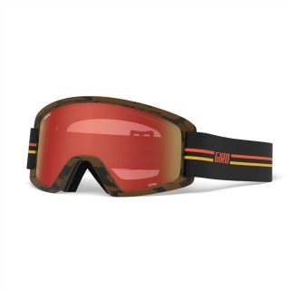 Giro brýle Semi GP black/orange amber scarlet yellow (2skla) 19/20