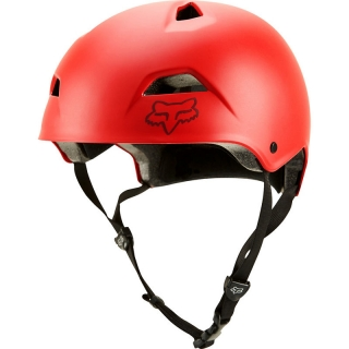 Fox MTB Flight Sport Helmet - S, Bright Red