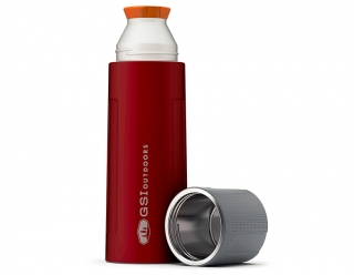 GSI Outdoors Glacier Stainless 1 L Vacuum Bottle - Red