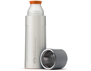 GSI Outdoors Glacier Stainless 1 L Vacuum Bottle - Silver