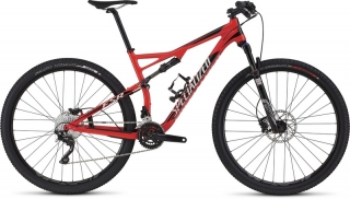 Specialized Epic FSR Comp 29 Gloss Rocket Red/Black/Dirty White 2016 - M