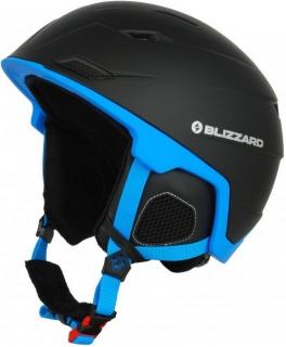 Blizzard helma Double black matt blue - 60-62 d90f14efa90