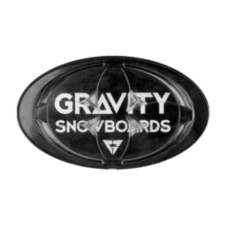 Gravity grip Logo mat black