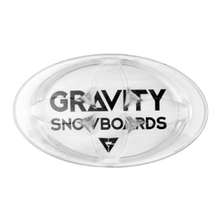 Gravity grip Logo, mat clear