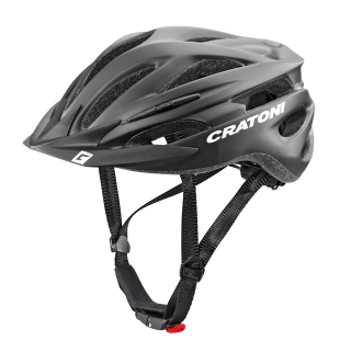 Cratoni přilba Pacer+ | black matt | L-XL | 2020