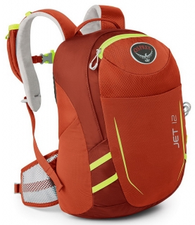 Osprey batoh jet 12 strawberry red 17