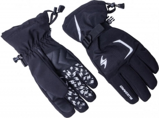 Blizzard Reflex ski gloves, black/silver, size 11, 18/19