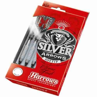 Harrows šipky Silver Arrows - 16g