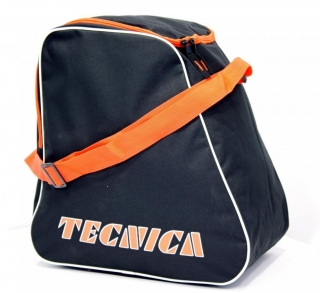 Tecnica skiboot bag, black/orange
