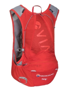 Montane batoh (vesta) Via Fang 5  red - S/M