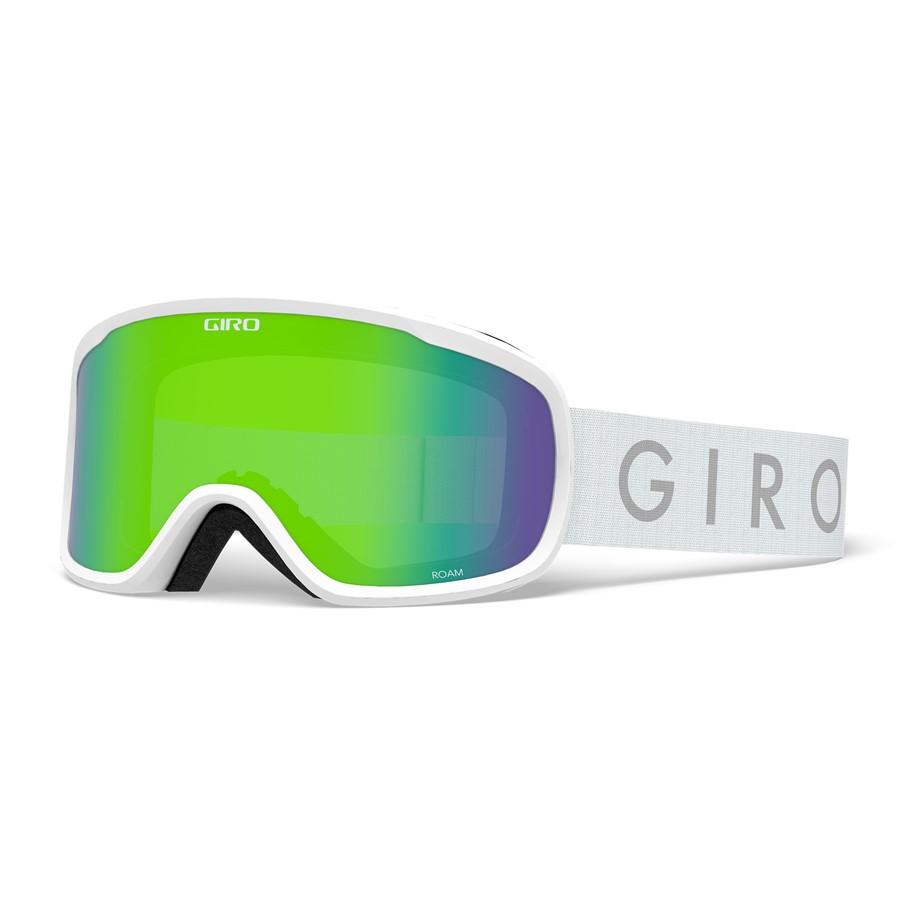 Giro brýle Roam White Core Loden Green/Yellow (2skla)