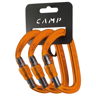 Camp Orbit Lock 3 Pack Orange