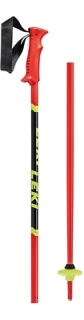 Leki hole Poles Racing Kids fluorescent red/black/neonyellow - 100cm