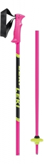 Leki hole Poles Racing Kids neonpink black/neonyellow - 100cm