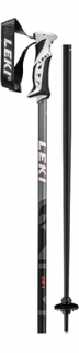 Leki hole Poles QNTM black/lightanthracite/fluorescent red - 125cm