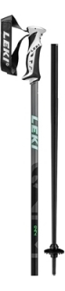 Leki hole Poles QNTM black/lightanthracite/neongreen - 125cm