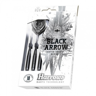 Harrows šipky Black Arrow 14g